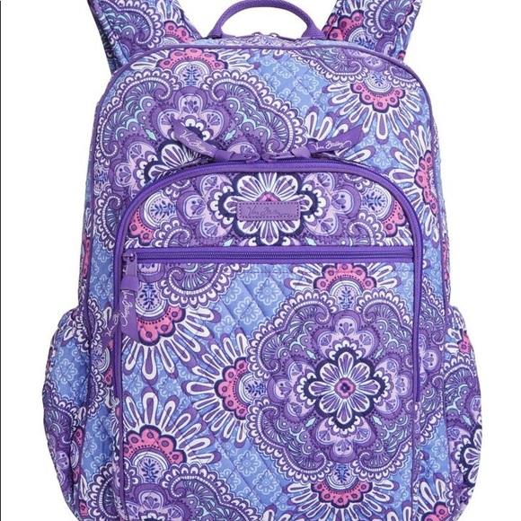 5874d01cdc4 Vera Bradley Backpack. M 5a88bf3531a376b35c9d97b3
